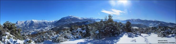Dormillouse et la vallée de la Blanche