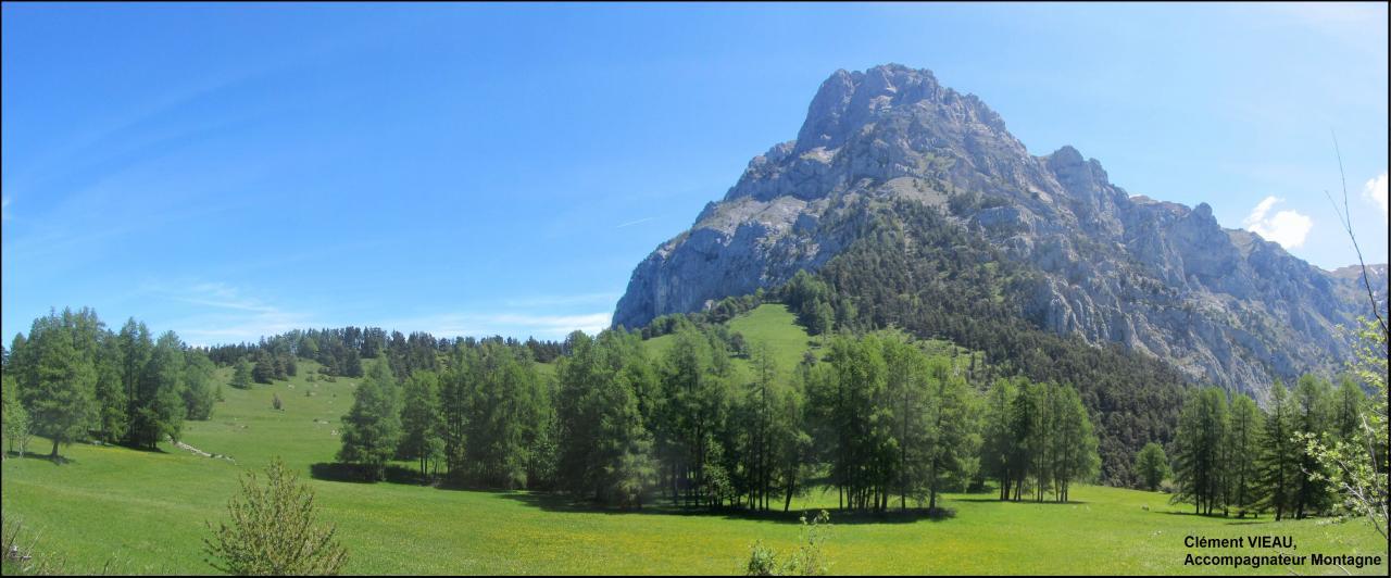 Pic du grand Morgon, depuis le col du Morgonnet