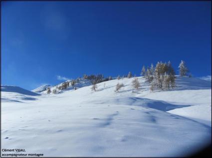 Col de Larche, à la frontière italienne