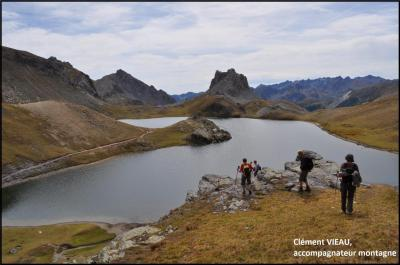 Lac du Roburent, à la frontière italienne