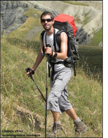 clement VIEAU, accompagnateur montagne